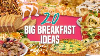 20 Breakfast Recipes for a Crowd   Holiday Breakfast and Brunch Recipe Compilation