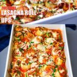 Easy, Zucchini Lasagna Roll Ups (Keto and Low-Carb)