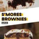 S'mores + Brownies = Dessert will NEVER be the same Get the recipe at Delish.com…