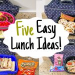 5 of the BEST COLD LUNCH BOX IDEAS | TASTY & EASY Recipes for WORK or BACK TO SCHOOL | Julia Pacheco