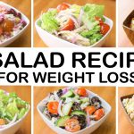 6 Healthy & Easy SALAD Recipes For Weight Loss | Easy & Exotic Salad Recipes | Weight Loss Salads