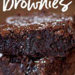 Thick & Chewy Nutella Brownies!