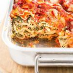 This easy Spinach Lasagna made with layers of spinach-ricotta filling, cheese, a…