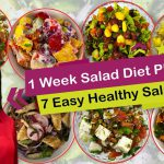 7 Healthy & Easy Salad Recipes for Weight Loss | Weight Loss Salad Recipes in Hindi | Easy 7 Salad