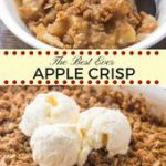 This easy apple crisp recipe is hands-down the best I've ever tried. It tastes w…