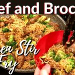 Beef and Broccoli Ramen Stir Fry Recipe – FAST AND EASY DINNER!
