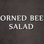 CORNED BEEF SALAD   SALAD RECIPES   EASY TO LEARN