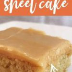 This peanut butter sheet cake recipe is the perfect dessert to feed a crowd! Pea…