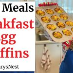 Easy Breakfast Egg Muffins Recipe – Busy Morning Grab and Go Breakfast