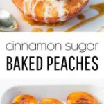 Baked Peaches
