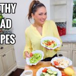 FOUR HEALTHY AND EASY SALAD RECIPES