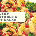 Fruit & Vegetable Salad -Weight Loss Salad Recipes -Lose 2 – 3 Kgs In a Week -Easy Salad  Recipes