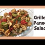 Grilled Paneer Salad For Weight Loss   High Protein Recipe   Healthy Diet Recipe   Farheen & Arsheen