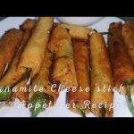 HOW TO MAKE EASY DYNAMITE CHEESE STICK'S (appetizer recipe)