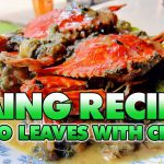 Laing Recipe (Taro Leaves with Crab) | Main Dish | Recipe in the Philippines| Cely and Eva at Ube pa