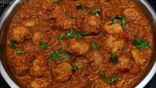 Meal Maker Gravy/ Soya Chunks Curry/Side Dish For Chapati