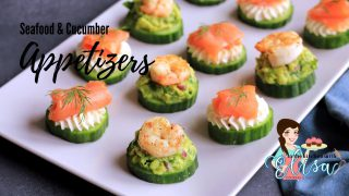Seafood & Cucumber Appetizers | Simple Appetizers