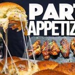 THE ULTIMATE PARTY APPETIZERS   SAM THE COOKING GUY