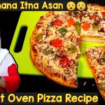 Without Oven Pizza Recipe | Homemade Veg Pizza Recipe | No Oven No Yeast Cheese Pizza Recipe