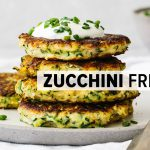 ZUCCHINI FRITTERS   healthy, gluten-free, low-carb, keto recipe