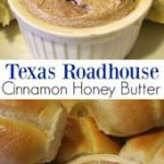 Easy copy cat Texas Roadhouse cinnamon honey butter you can make at home.  This …