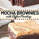 These Mocha Brownies have a delicious coffee flavor and coffee frosting on top. …