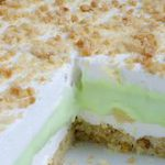 Key Lime Pie Lasagna is cool, light and creamy summer dessert with sweet and tar…
