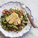 Anne Faber shares her recipe for a halloumi Greek salad at Food & Wine….