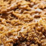 Caramel Apple Slab Pie has a thin and flaky melt in your mouth crust topped with…