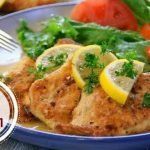 French Chicken or Chicken francaise in 30 Minutes