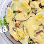 LETTUCE SALAD | how to make easy and healthy salad | Barryrecipes
