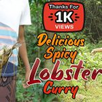Lobster Recipe | Delicious Spicy Lobster Curry In Sri Lankan Cooking In Nature