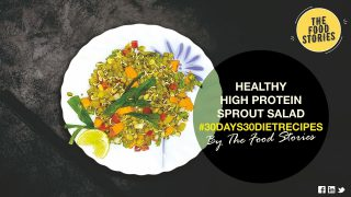Sprouts Salad Recipe I #30Days30DietRecipes I High Protein Salad I Weight Loss Salad Recipe I Diet