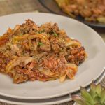 Sweet and Tangy Casserole Of LAYERED CABBAGE AND GROUND BEEF | Recipes.net