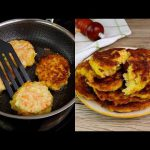 Vegetables pancakes: the quick and tasty vegetarian recipe!