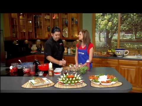 Festive holiday christmas appetizer recipes | Dessert shooters | Chef Cristian Feher