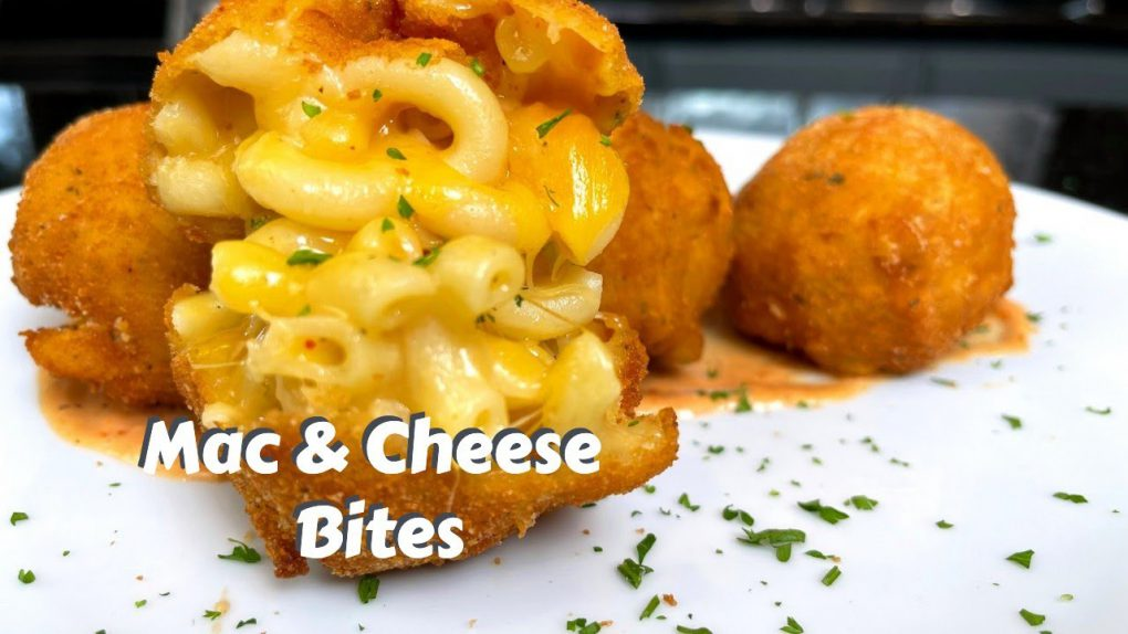 FRIED MAC & CHEESE BITES | Easy & Delicious Appetizer Recipe