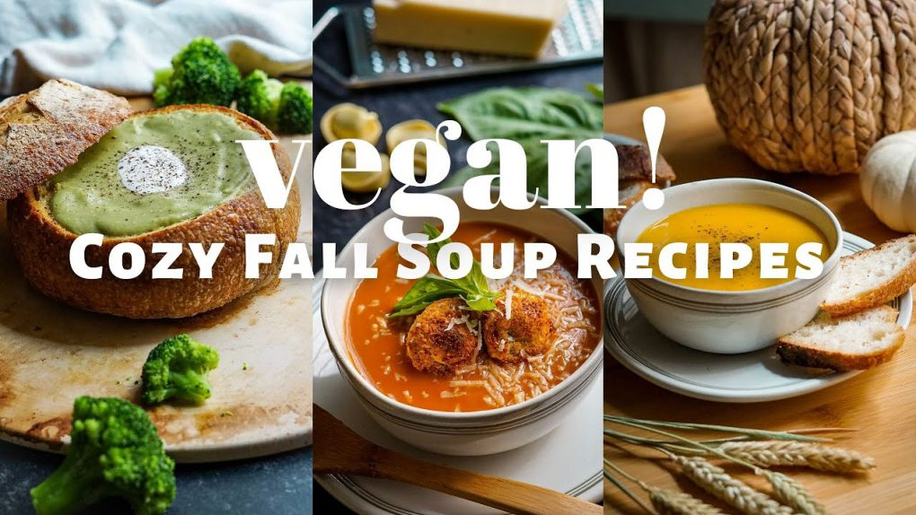 NOT Your Average Fall Soup Recipes! Vegan, Easy to Make, and Healthy!