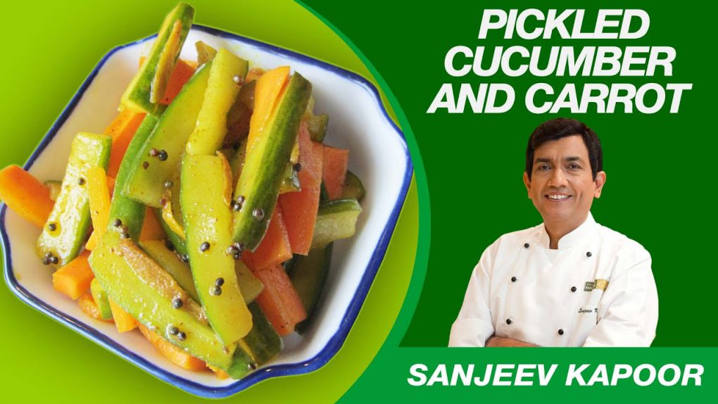Pickled Cucumber & Carrot Salad Recipe by Sanjeev Kapoor | Nutritious Tasty Salad